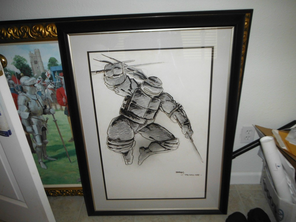 Kevin_Eastman_original_art_Teenage_Mutant_Ninja_Turtles