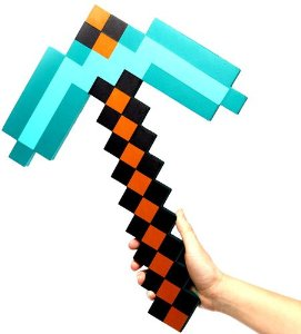 minecraft-diamond-foam-pickaxe