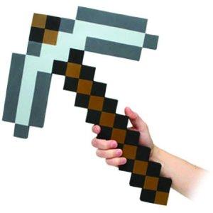 minecraft-foam-pickaxe