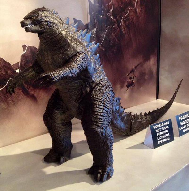 2014 Godzilla action figures