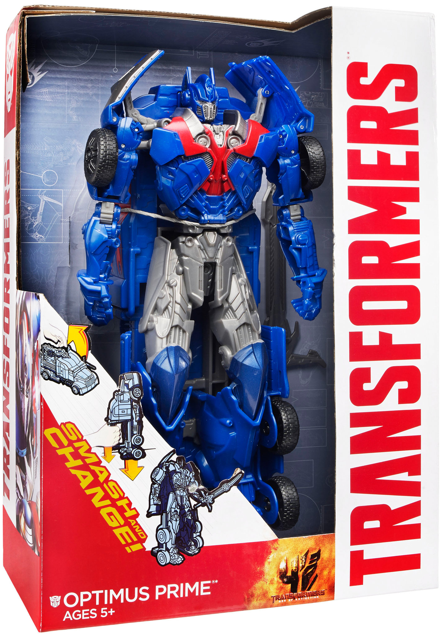 Smash and Change Optimus Prime Transformers 4 Age of Extinction toy