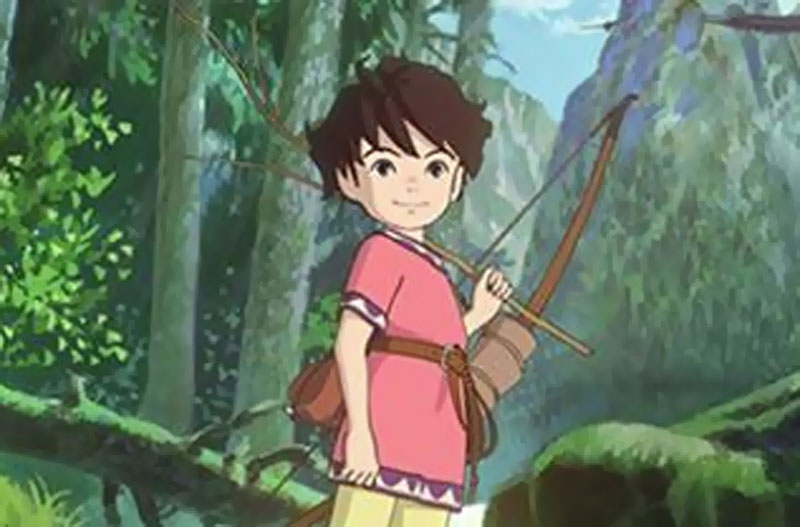 Studio Ghibli Sanzoku no Musume Ronja TV series
