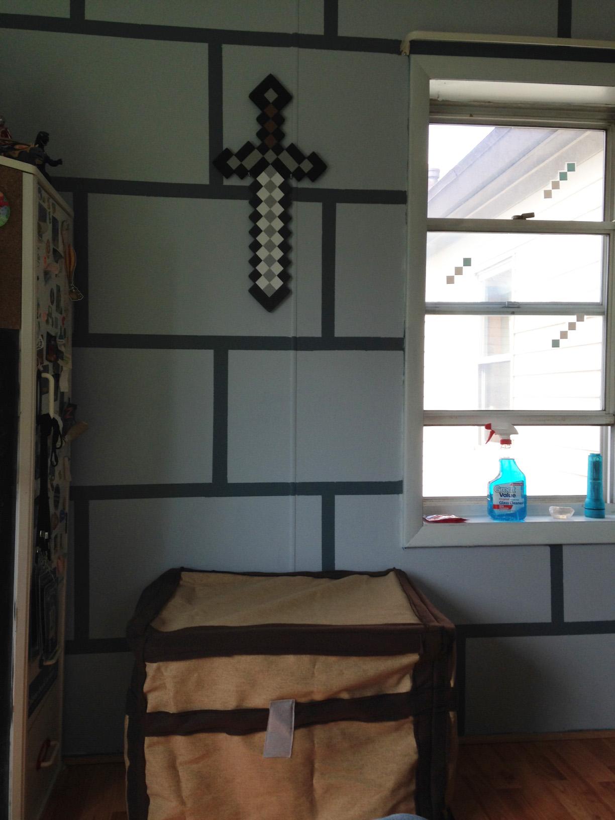 New Minecraft Bedroom