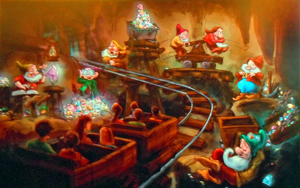 Seven Dwarfs Mine Train / Walt Disney World
