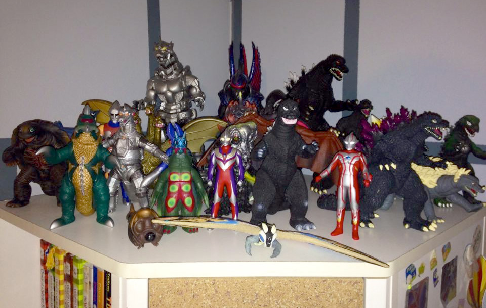Our Son S Vinyl Godzilla Kaiju Collection D Rezzed
