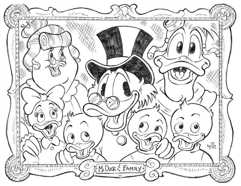 Uncle-Scrooge-Disney-Nephews-Huey-Dewie-Louie-Launchpad-Ducktales