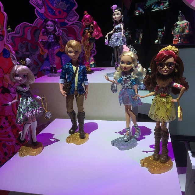 Monster High 2015 and Ever After High 2015 at Toy Fair 2015 New York