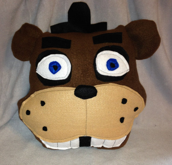 Five Nights at Freddy's fan made pillows!