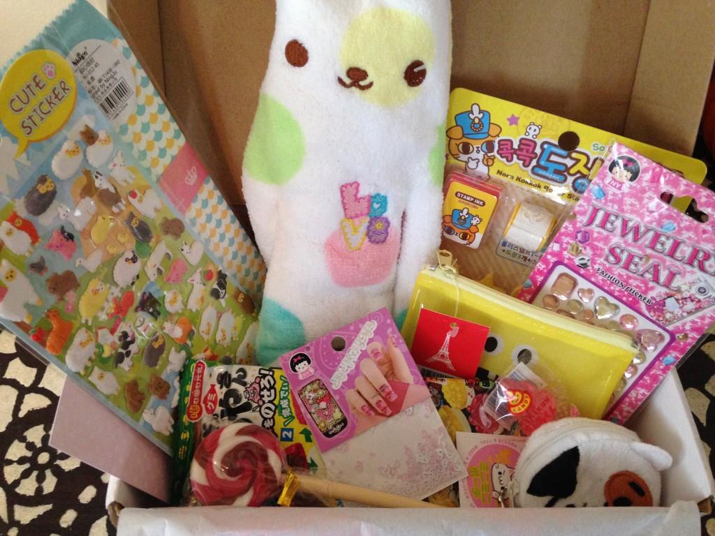 Kawaii Box October 2015