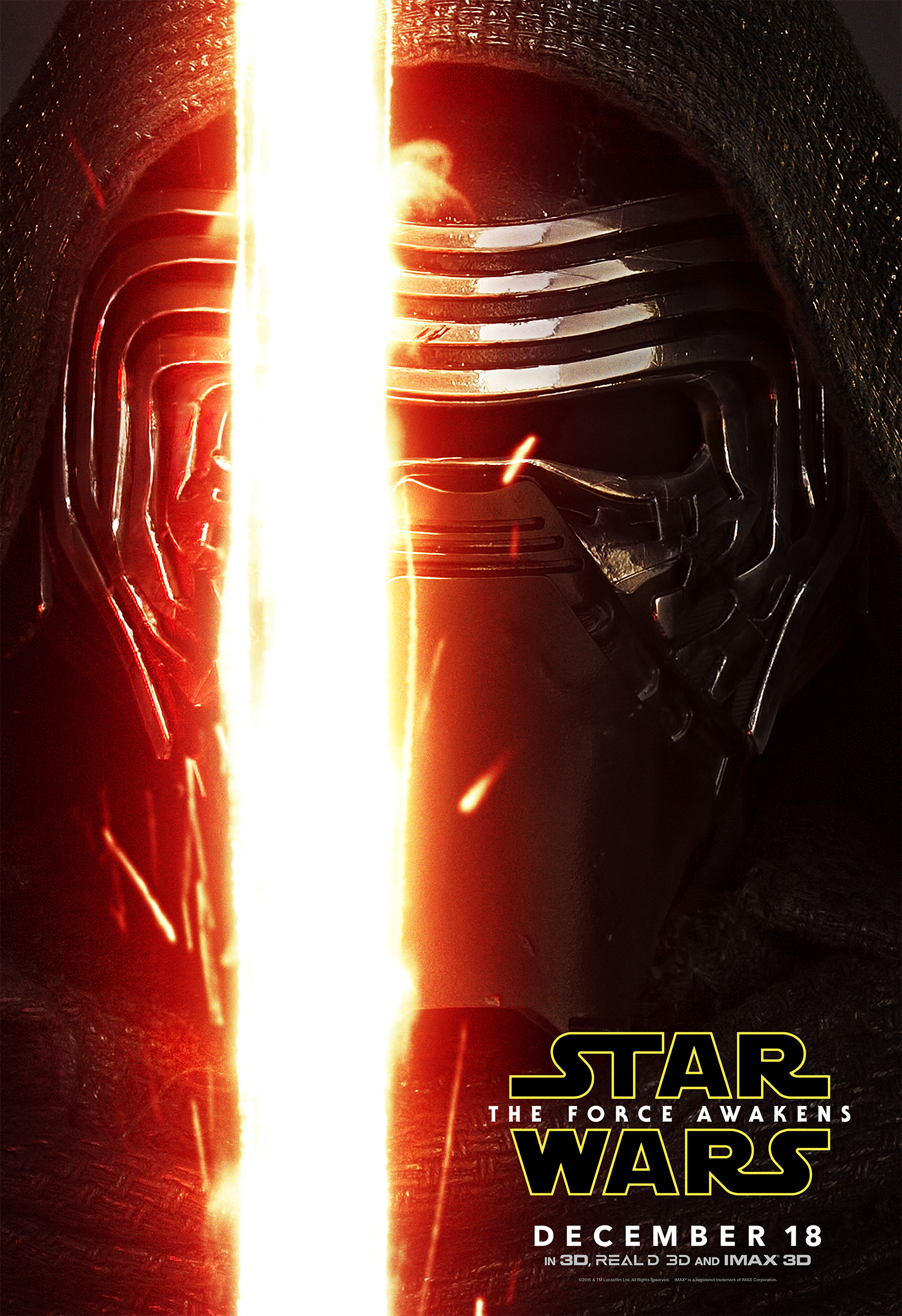 Kylo Ren - The Force Awakens