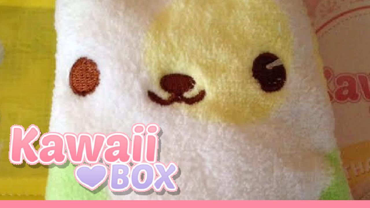 Kawaii Box Unboxing on Youtube - October 2015