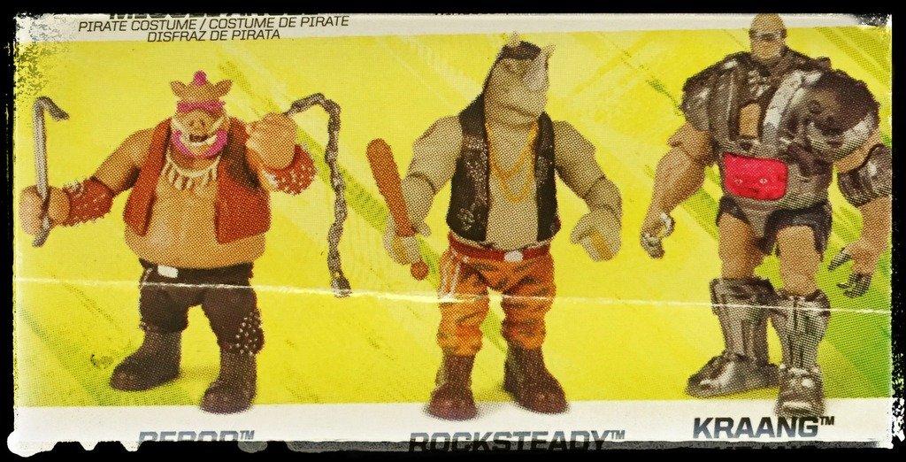 Bebop Rocksteady - TMNT2