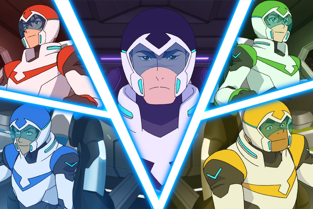 Voltron Season 2 Legendary Defenders Netflix Dreamworks Animation