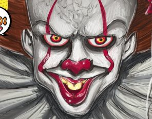 Pennywise The Dancing Clown From It Speedpaint Art Animation And Drawing D Rezzed Pop Culture News